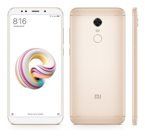 telefono celular xiaomi redmi 5 plus 3gb 32gb snapdragon