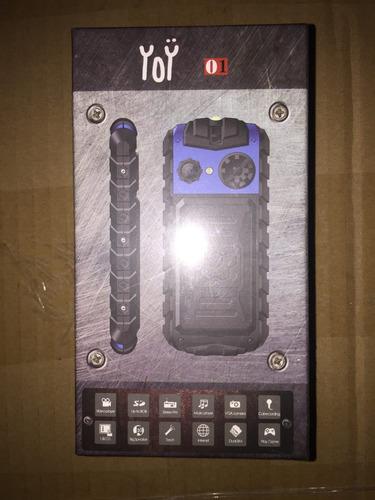 teléfono celular yoobao yoy01 verde doble sim liberado