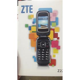 Telefono Celular Zte Z222 Funciones Basicas De Tapita Nuevo