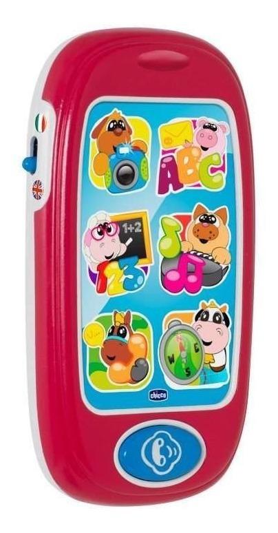 Telefono Chicco Smartphone De Los Animales Bilingüe Con Luz