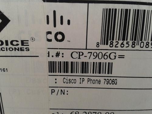 telefono cisco modelo 7906 nuevo