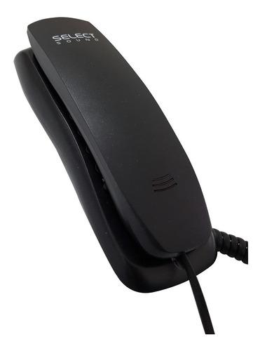 teléfono de escritorio select sound negro