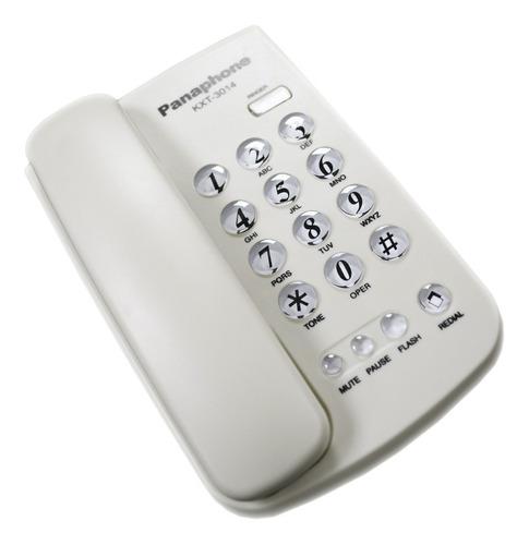 telefono de mesa base panaphone kxt3014 numeros grandes lst