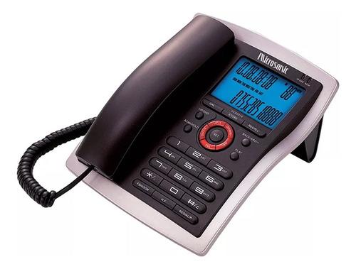 telefono de mesa con captor de llamadas microsonic-ub