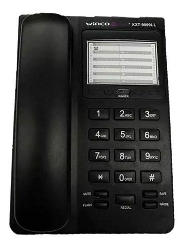 telefono de mesa fijo winco (kxt-9999)