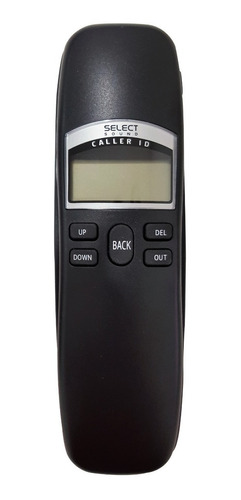 telefono de pared select sound caller id reloj, alarma