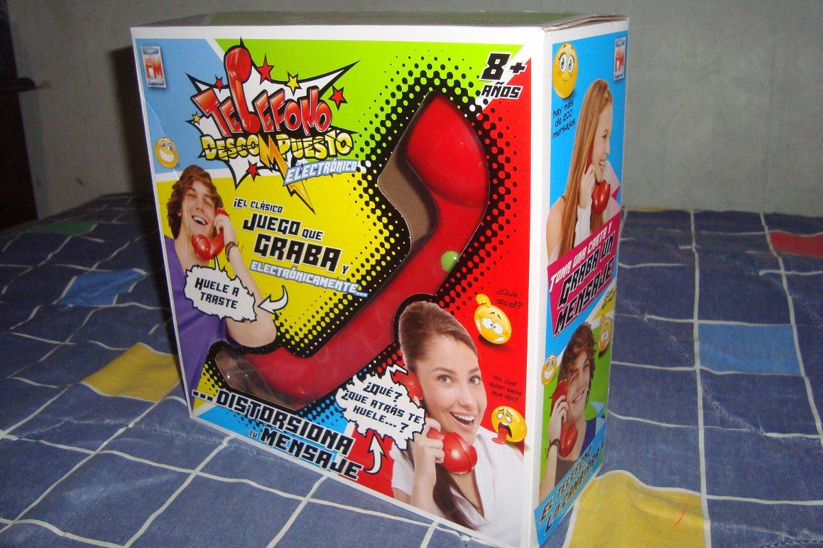Telefono Descompuesto Electronico Juego De Mesa Fotorama 950 00