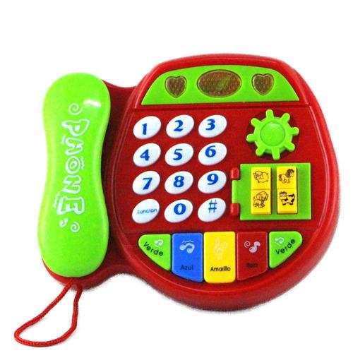 telefono didactico juguete musical