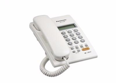 teléfono digital panasonic, pared, color blanco, si, si, lcd