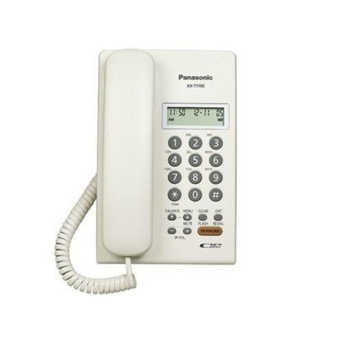teléfono digital panasonic, pared, color blanco si,kx-t7705x