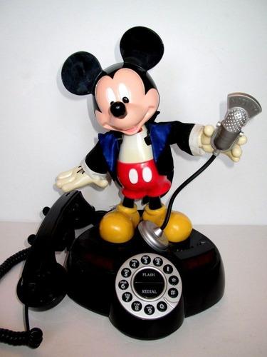 telefono disney mickey mouse vintage animado 1997