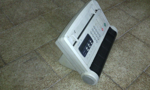 telefono fax acer, impecable+cable+cab. aliment. + 2 rollos
