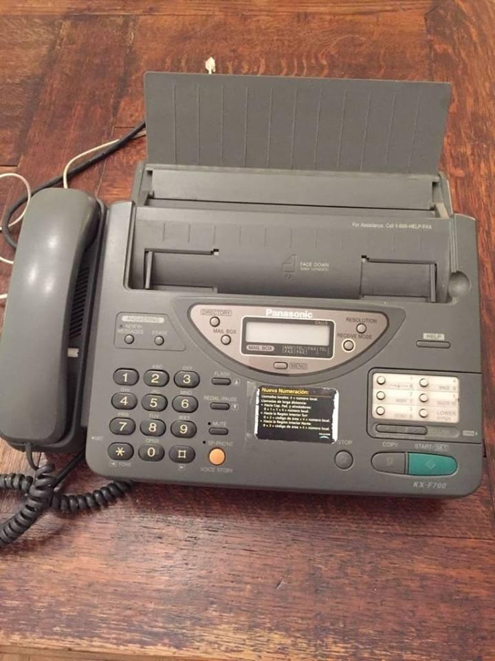 b136f5a9531 Telefono, Fax, Contestador Automatico Panasonic Kx-f700 - $ 1.600,00 ...