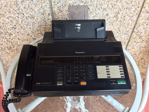teléfono fax panasonic contestadora copiadora oficina