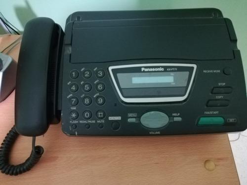teléfono-fax panasonic kx-ft71