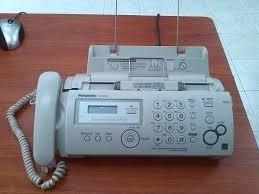 telefono fax panasonic kxfp205