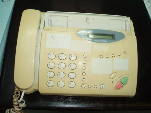 telefono fax xerox 7241a