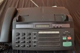 telefono fax y copiadora sharp ux-107 funcionando