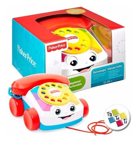 teléfono feliz fisher price