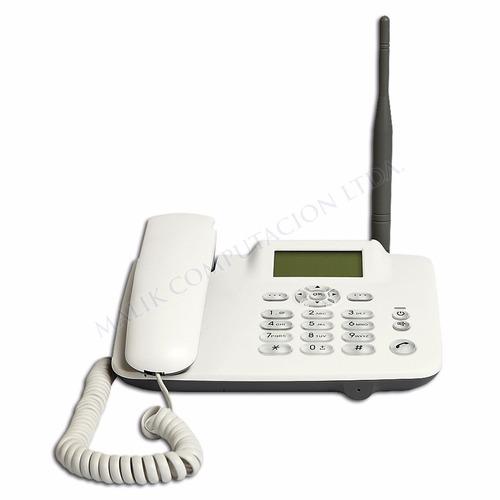 telefono fijo entel inalambrico radio fm altavoz
