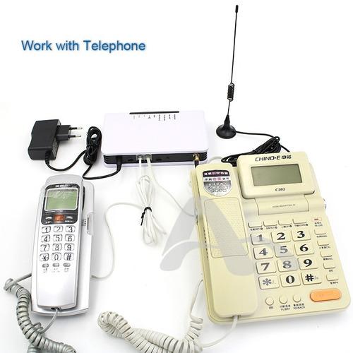teléfono fijo gsm terminal inalámbrico fijo