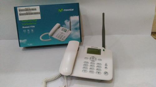 telefono fijo  huawei f316 con linea