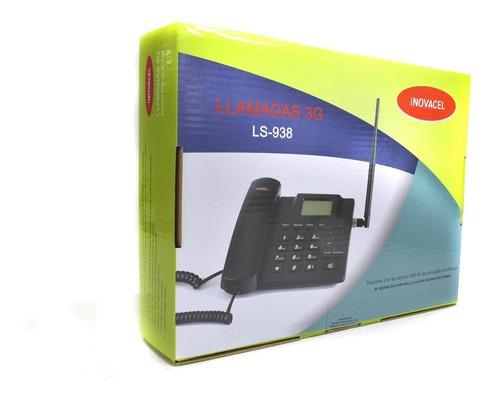 teléfono fijo rural inovacel ls-938 3g liberado single sim