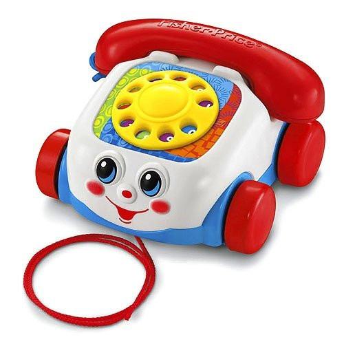 telefono fisher price con rueditas tradicional