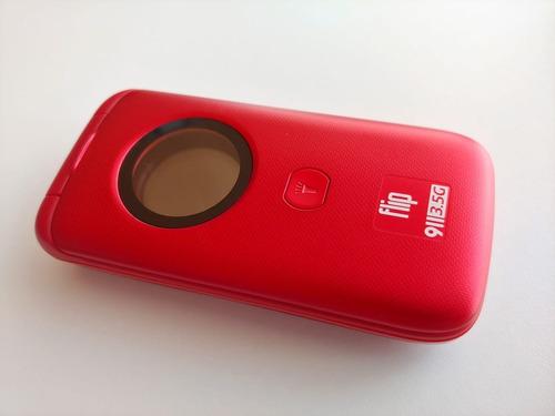 teléfono flip 911 para adultos mayores botón sos mod 2019