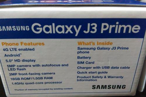 teléfono galaxy j3 prime nuevo