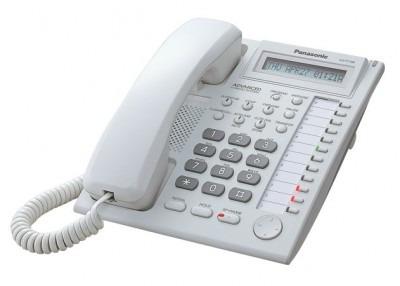 teléfono híbrido panasonic kx-t7730x escritorio,color blanco