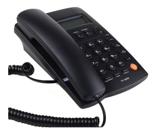 teléfono homedesk tc-9200 para casa u oficina alambrico