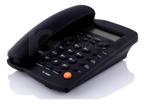 teléfono homedesk tc-9200 para casa u oficina alambrico con envio gratuito y garantía