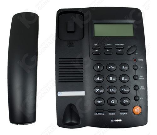 teléfono homedesk tc-9200 para casa y oficina alámbrico remate envío gratuito y garantía