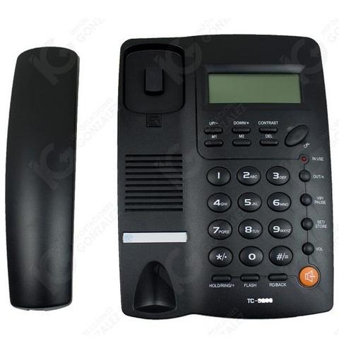 teléfono homedesk tc9200 casa oficina alámbrico envio gratis