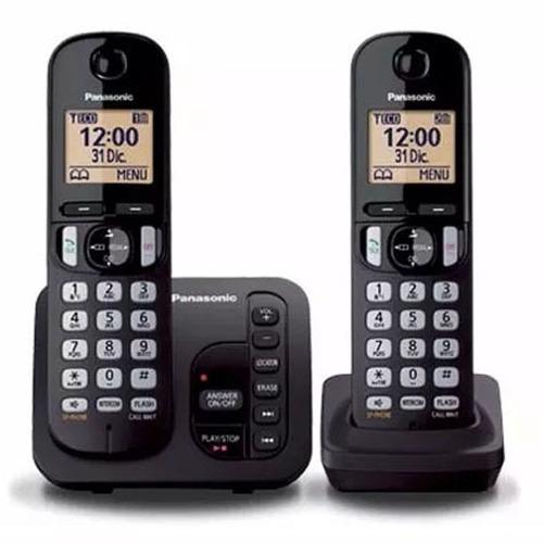 telefono inal. 2 bases panasonic captor y contestador - lcm