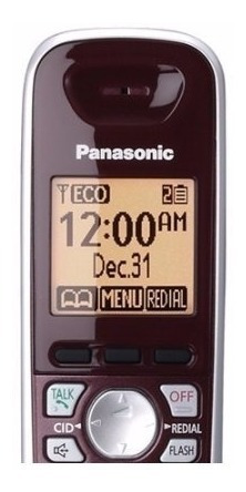 teléfono inalámbrico + 1 extensión id de llamadas panasonic