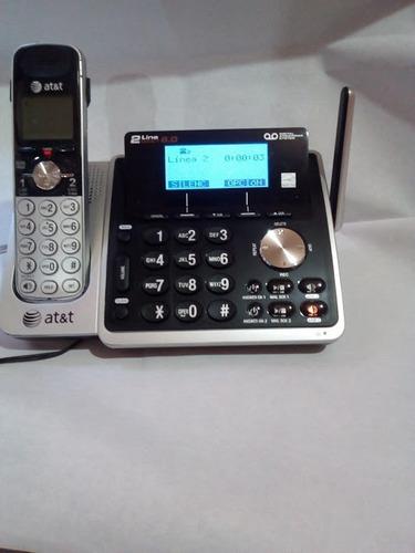 telefono inalambrico 2 lineas tl88102