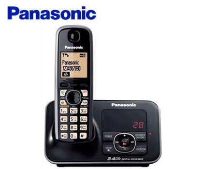 teléfono inalámbrico 2.4 ghz panasonic