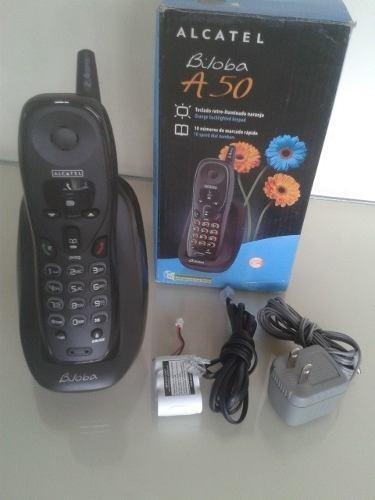 teléfono inalámbrico alcatel modelo biloba 50
