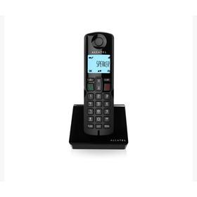 Teléfono Inalámbrico Alcatel S250 Negro Altavoz+ Id