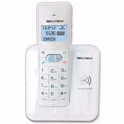 telefono inalambrico alto alcance elegante diseño original