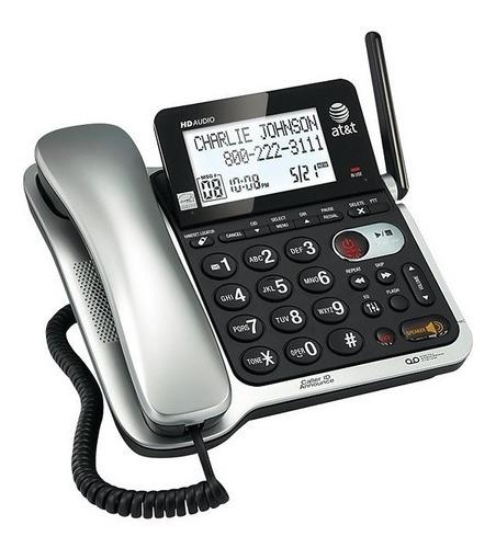 teléfono inalambrico at&t cl84202 identificador contestadora