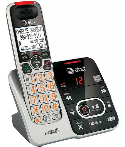 telefono inalambrico at&t dect 6.0 contestadora identificado