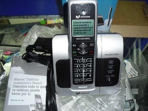 teléfono inalámbrico beetel + bateria nueva sellada