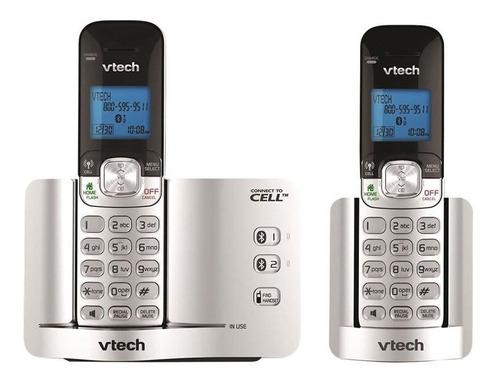 teléfono inalámbrico con 2 ext. vetech