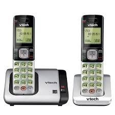 telefono inalambrico con auxiliar vtech