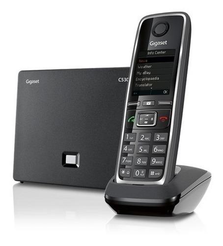 teléfono inalámbrico dect 6.0 gigaset c530 ip