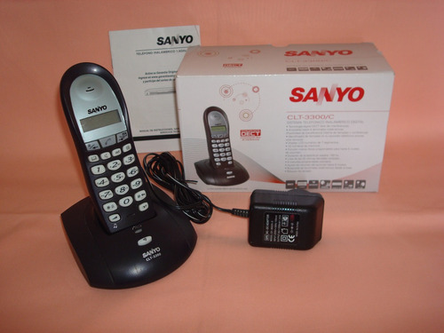 telefono inalambrico digital sanyo mod.clt-3300 para reparar
