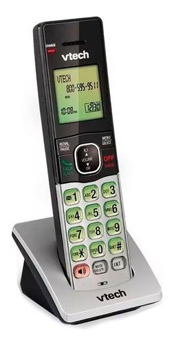 telefono inalambrico doble con altavoz identificador vtech plateado base pared